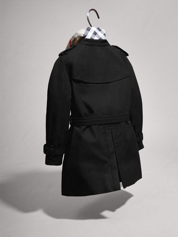 The Wiltshire – Heritage 系列風衣 (黑色) | Burberry - cell image 3
