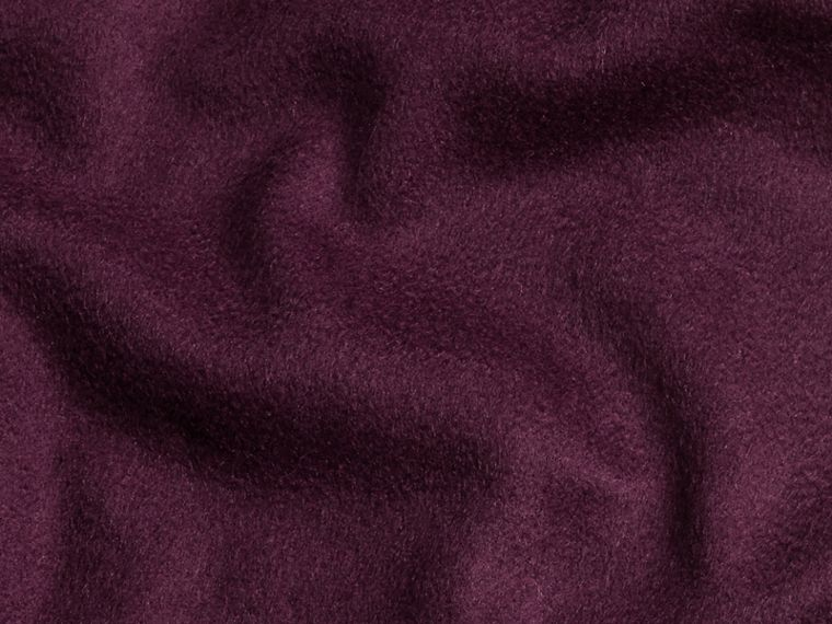 Aubergine The Classic Cashmere Scarf Aubergine - cell image 4