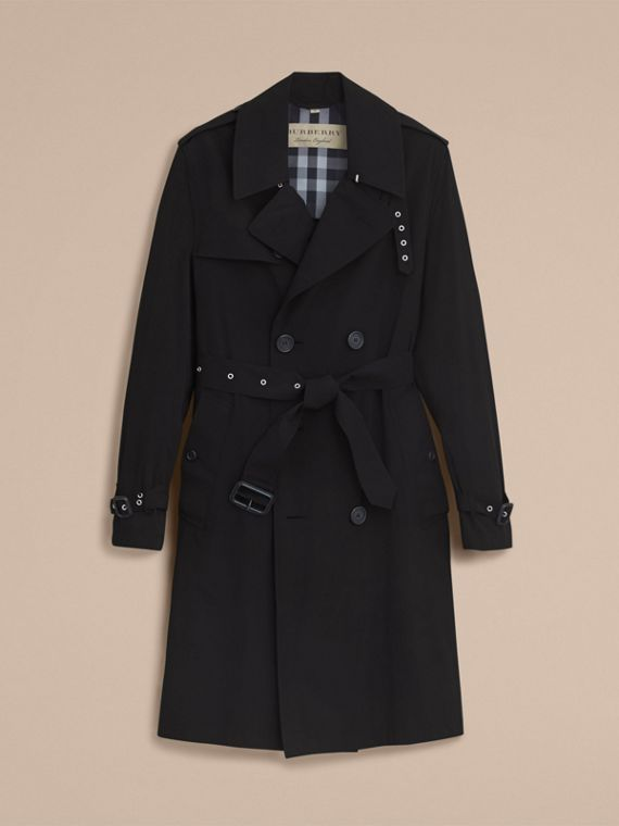 Lightweight Double-breasted Trench Coat - cell image 3