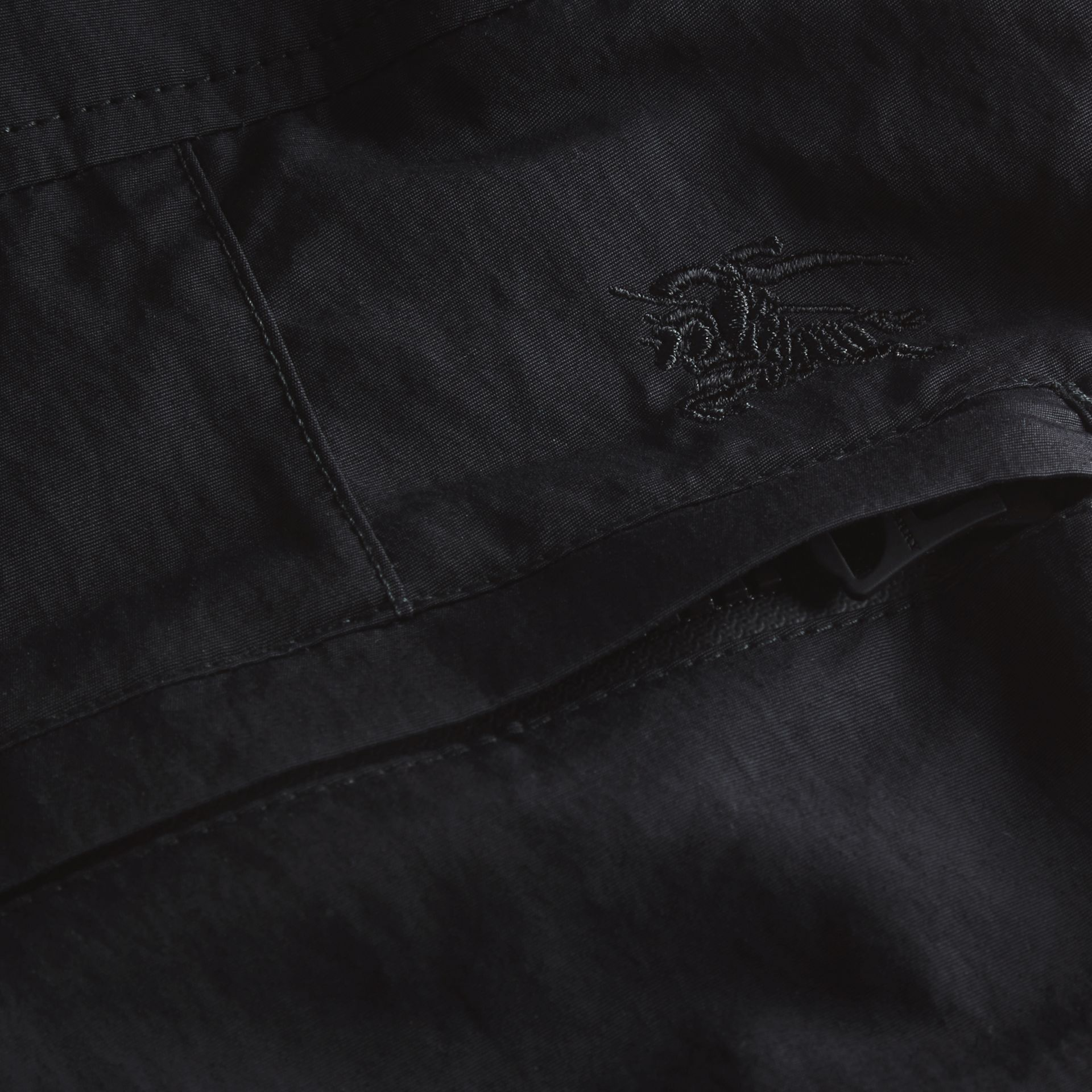 Tailored Swim Shorts in Black - Men | Burberry Singapore - gallery image 2
