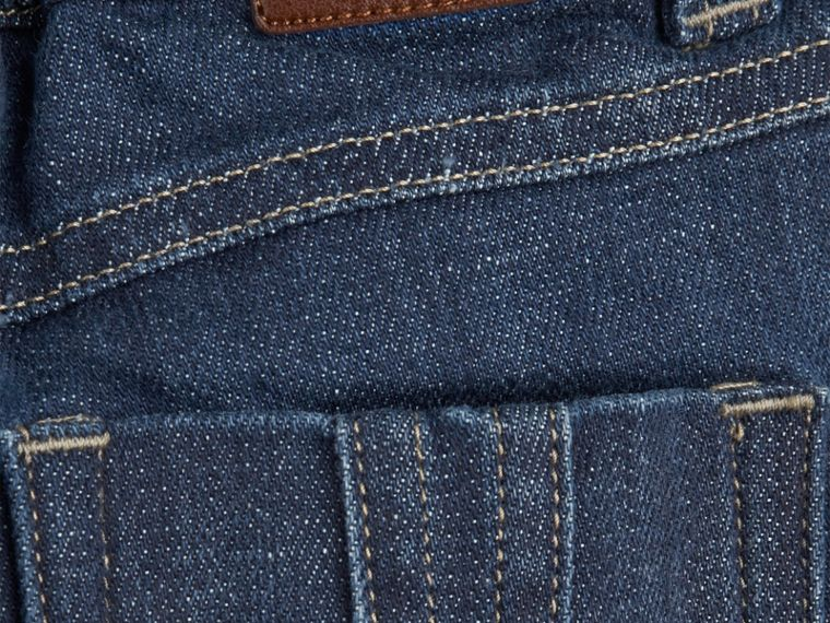 Blue Stretch Denim Jeans - cell image 1