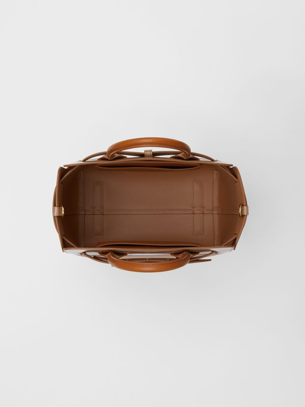 The Small Panelled Leather Triple Stud Belt Bag in Soft Fawn/biscuit - Women | Burberry - cell image 3