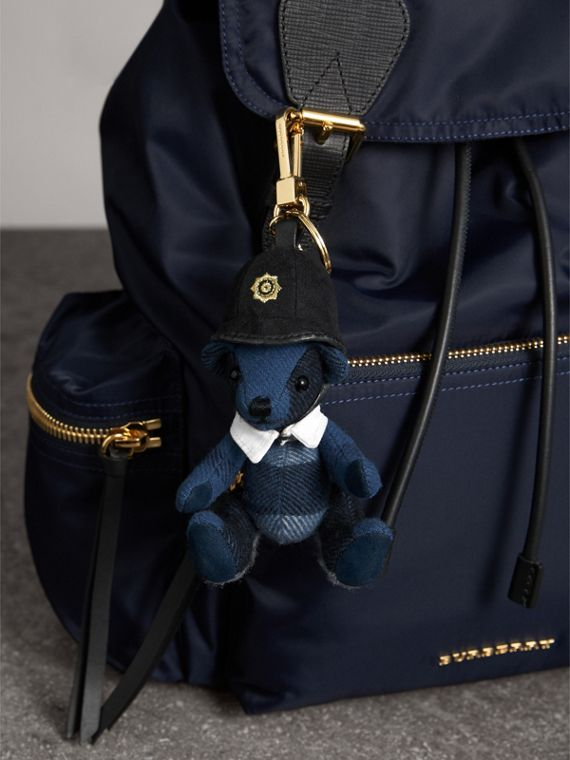 The Bobby Thomas Bear Charm in Cadet Blue | Burberry - cell image 2