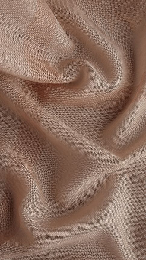 Pale nude chk Check Cashmere Square - Large Pale Nude Chk - Image 2