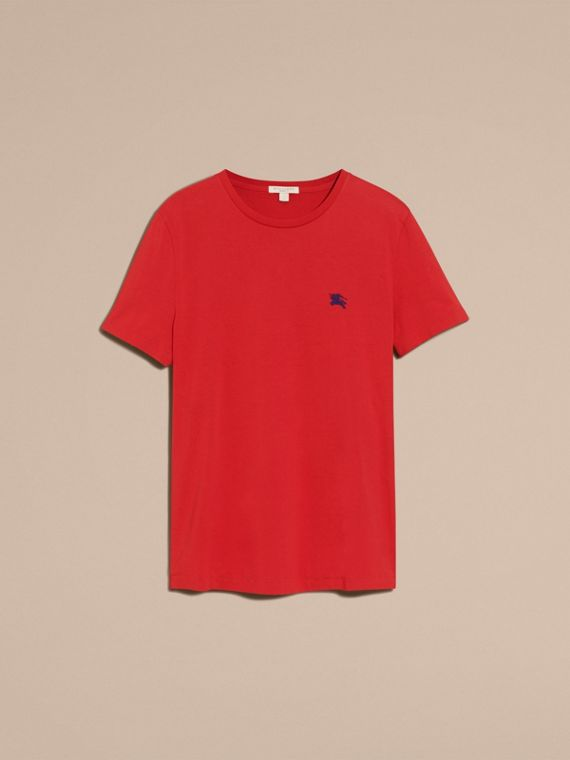 Military red Liquid-soft Cotton T-Shirt Military Red - cell image 3
