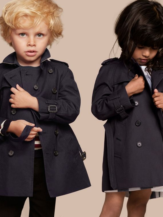 The Wiltshire - Trench coat Heritage Azul Marinho