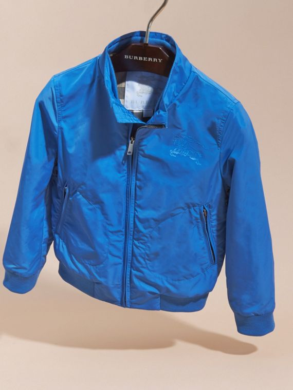 Bright hydrangea blue Packaway Blouson - cell image 2