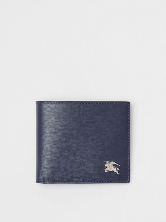 London Leather International Bifold Wallet in Navy