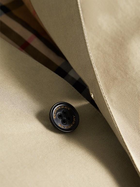 Trench coat en algodón de gabardina tropical (Piedra Arenisca) - Niña | Burberry - cell image 1