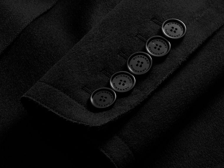 Military Wool Asymmetric Topcoat - Men | Burberry Hong Kong - cell image 1