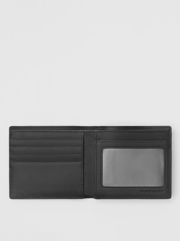 London Check ID Wallet in Charcoal/black - Men | Burberry United Kingdom - cell image 2