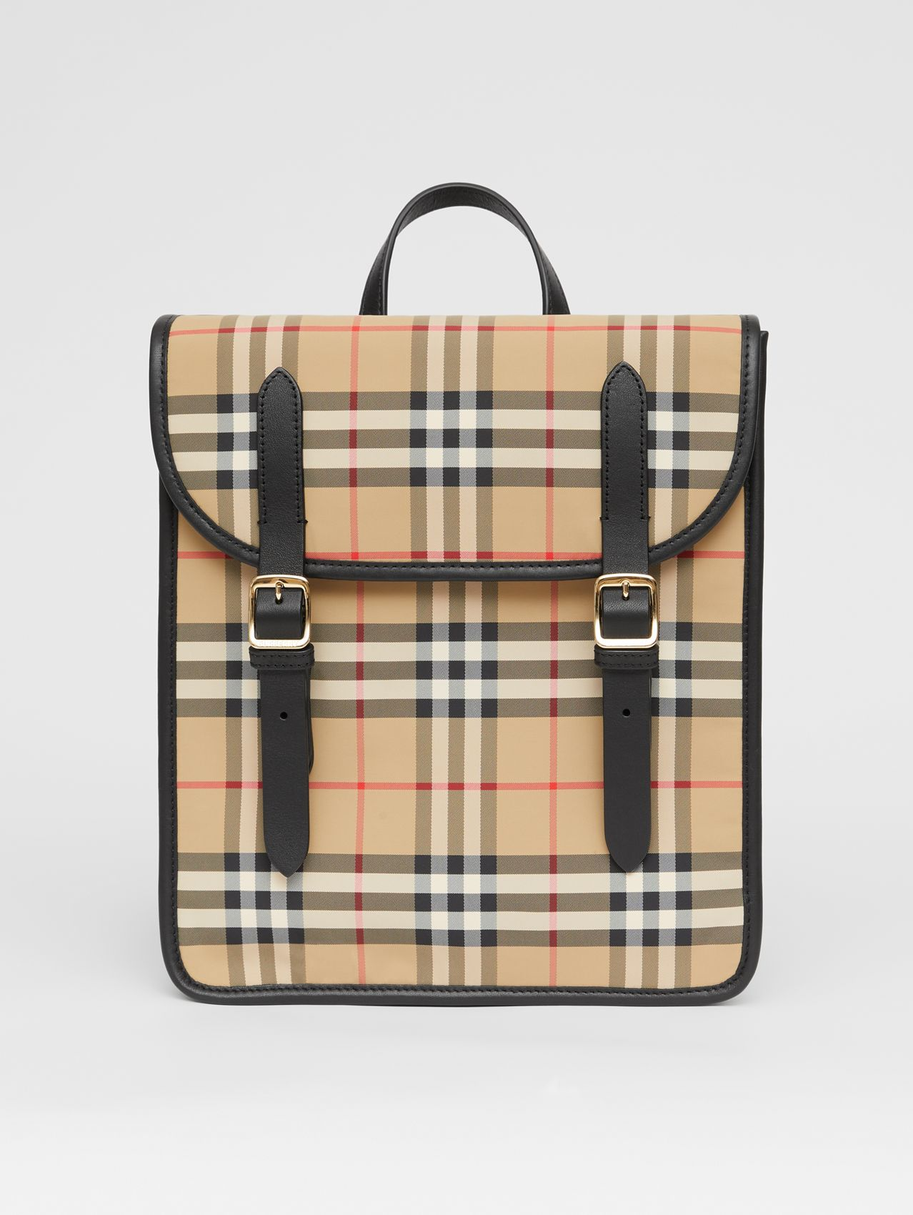 Vintage Check ECONYL® Satchel in Archive Beige