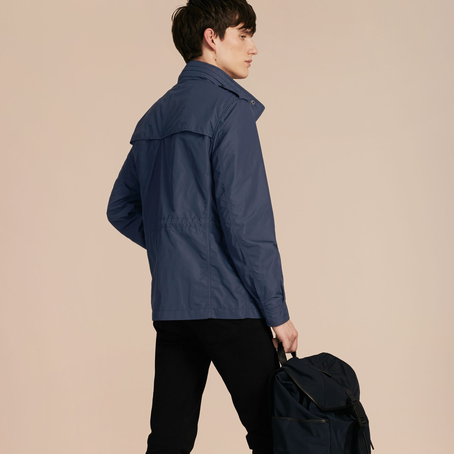 Navy Showerproof Field Jacket - gallery image 3