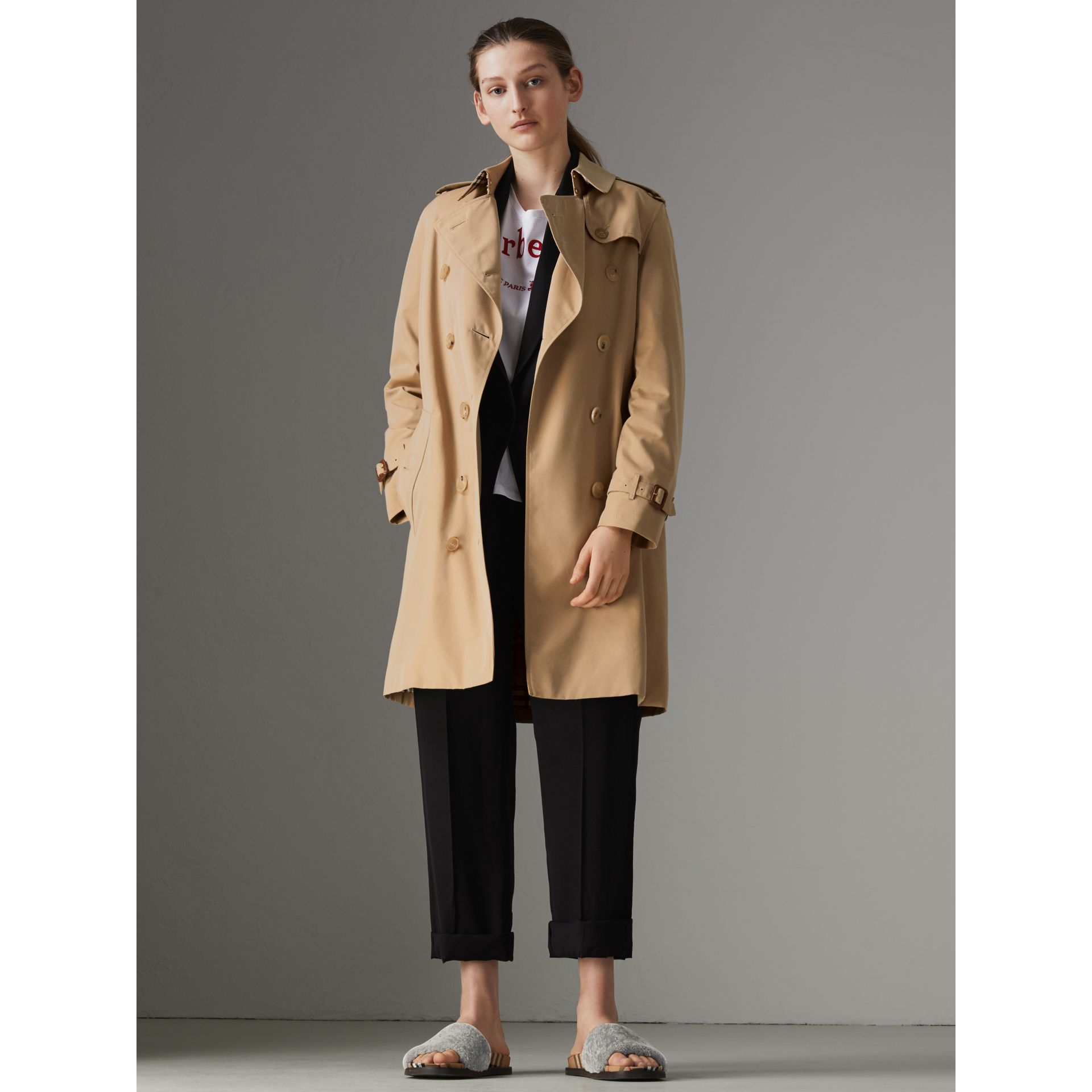 The Kensington – Trench Heritage (Miel) - Femme | Burberry - photo de la galerie 6