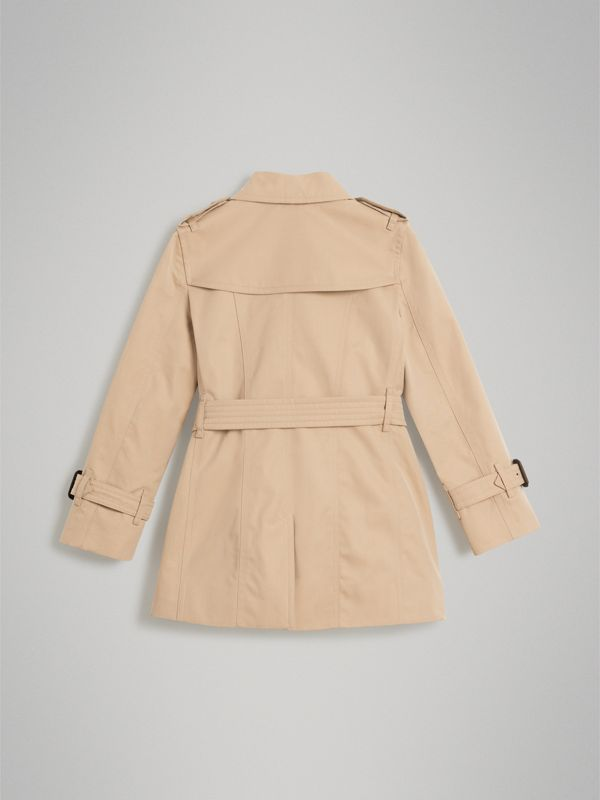 The Sandringham Trench Coat in Honey - Girl | Burberry - cell image 3