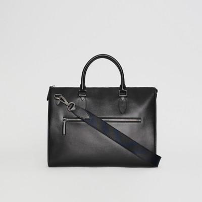 Burberry - Grand attaché-case en cuir London - 7