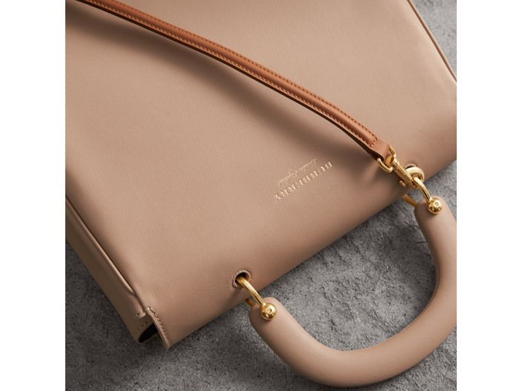 The Large DK88 Top Handle Bag in Honey - Women | Burberry Australia - cell image 4
