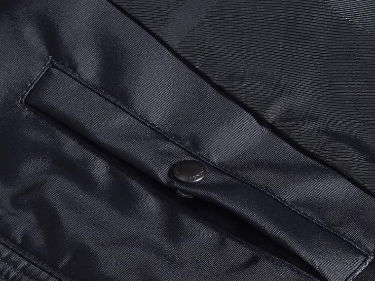 Темно-синий Куртка со складным капюшоном - cell image 1