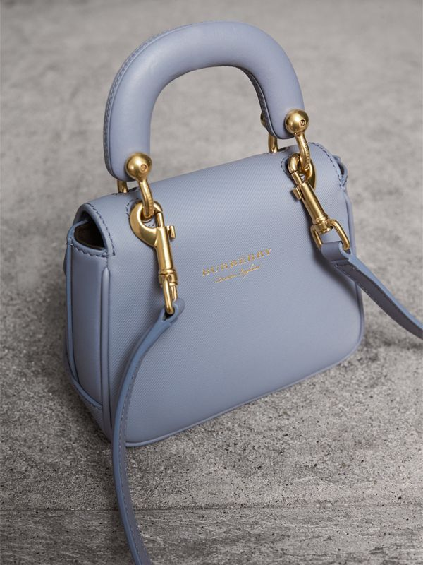 The Mini DK88 Top Handle Bag in Slate Blue - Women | Burberry United Kingdom - cell image 3