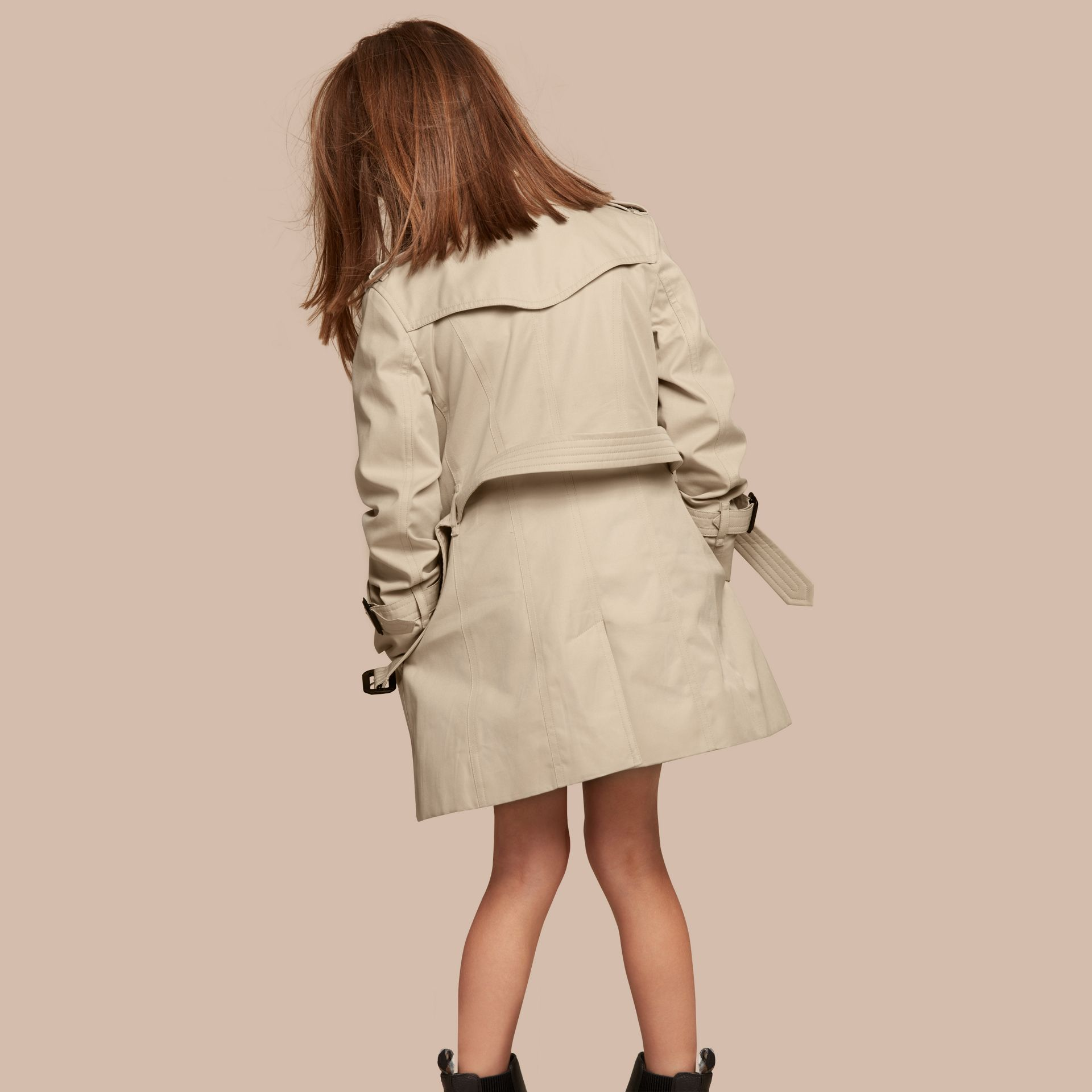 The Sandringham - Trench coat Heritage - Bambina | Burberry - immagine della galleria 4