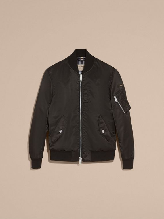 Technical Bomber Jacket Black - cell image 3