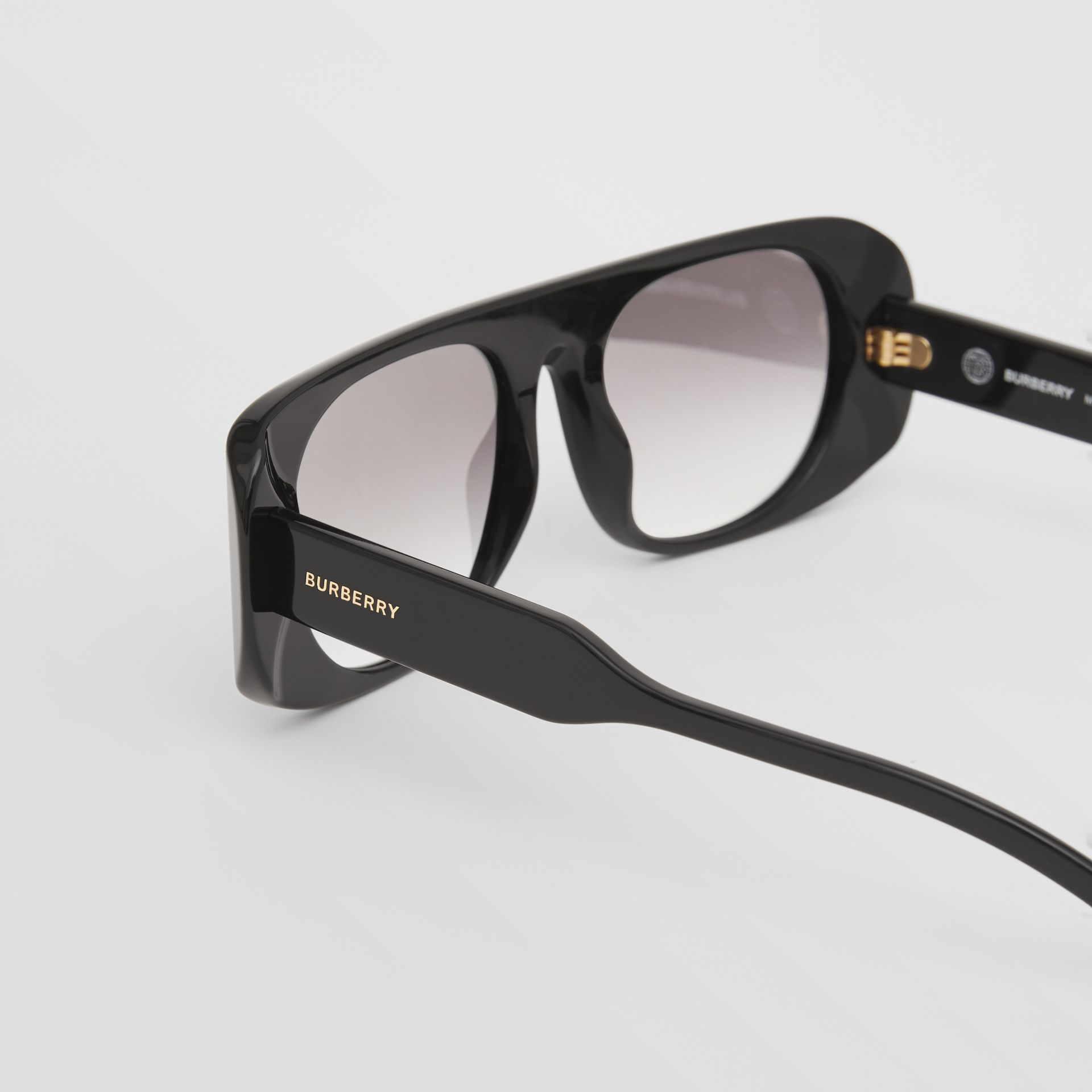 Blake Sunglasses in Black | Burberry - gallery image 7