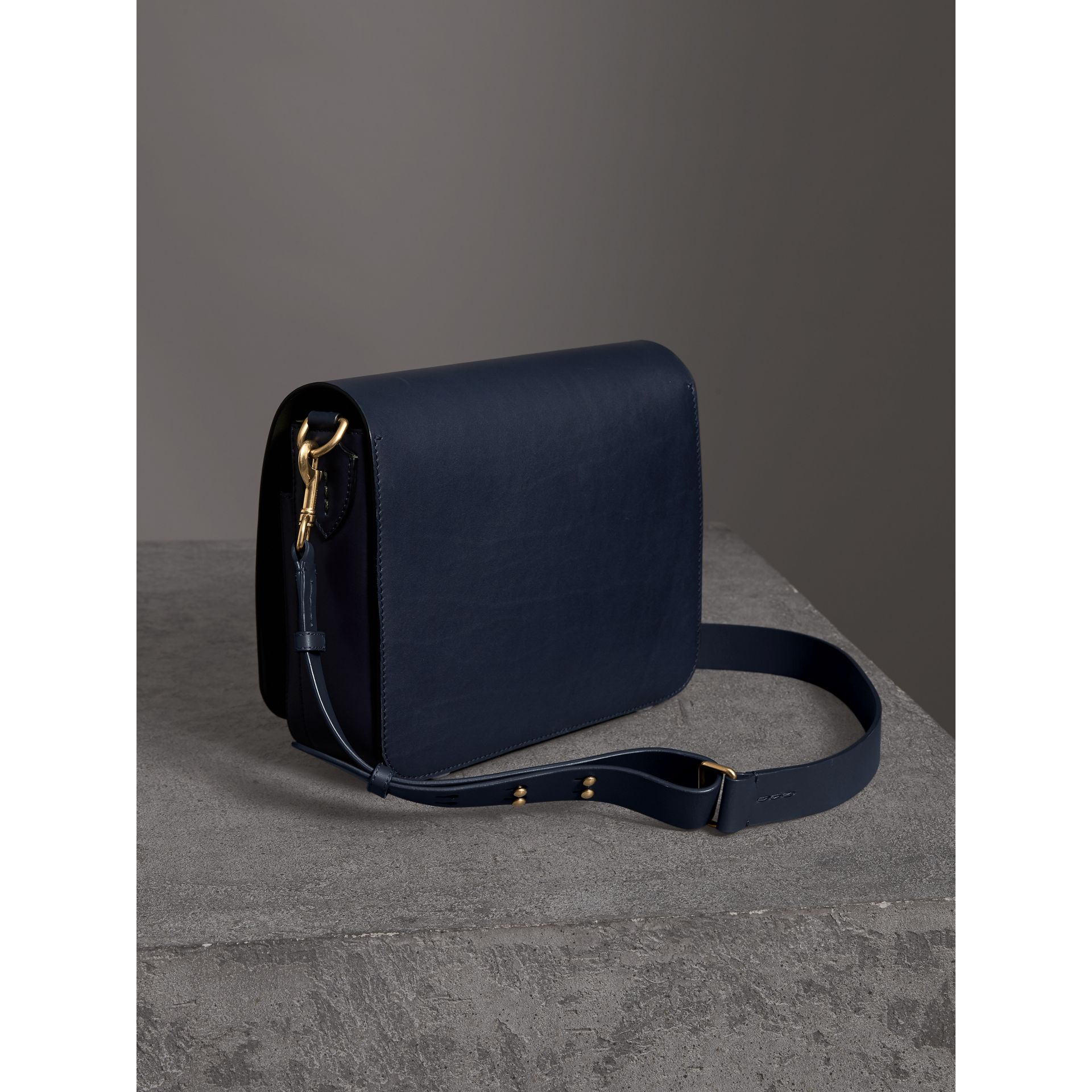 The Large Square Satchel aus Leder (Mittelindigo) - Damen | Burberry - Galerie-Bild 4