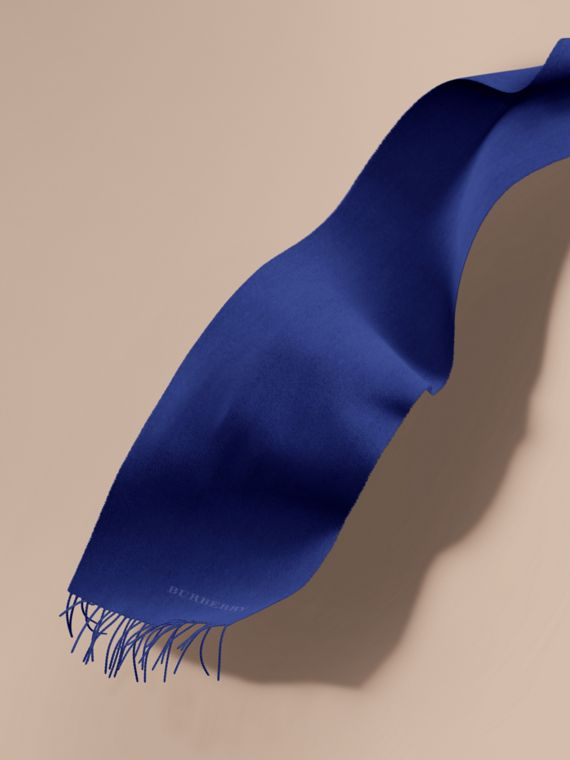 L'écharpe classique en cachemire (Saphir Vif)