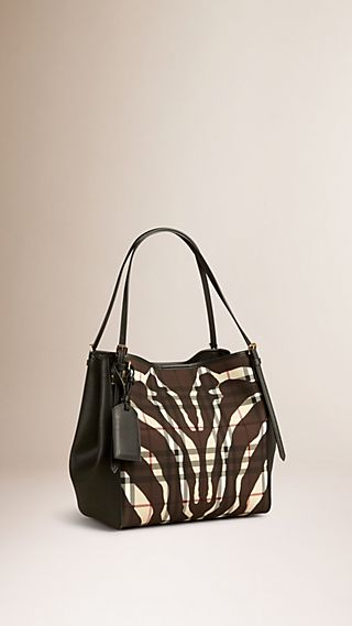 The Small Canter in Animal Print Horseferry Check