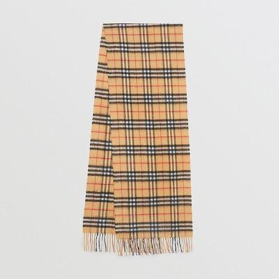 Burberry - Écharpe classique en cachemire à motif Vintage check - 1