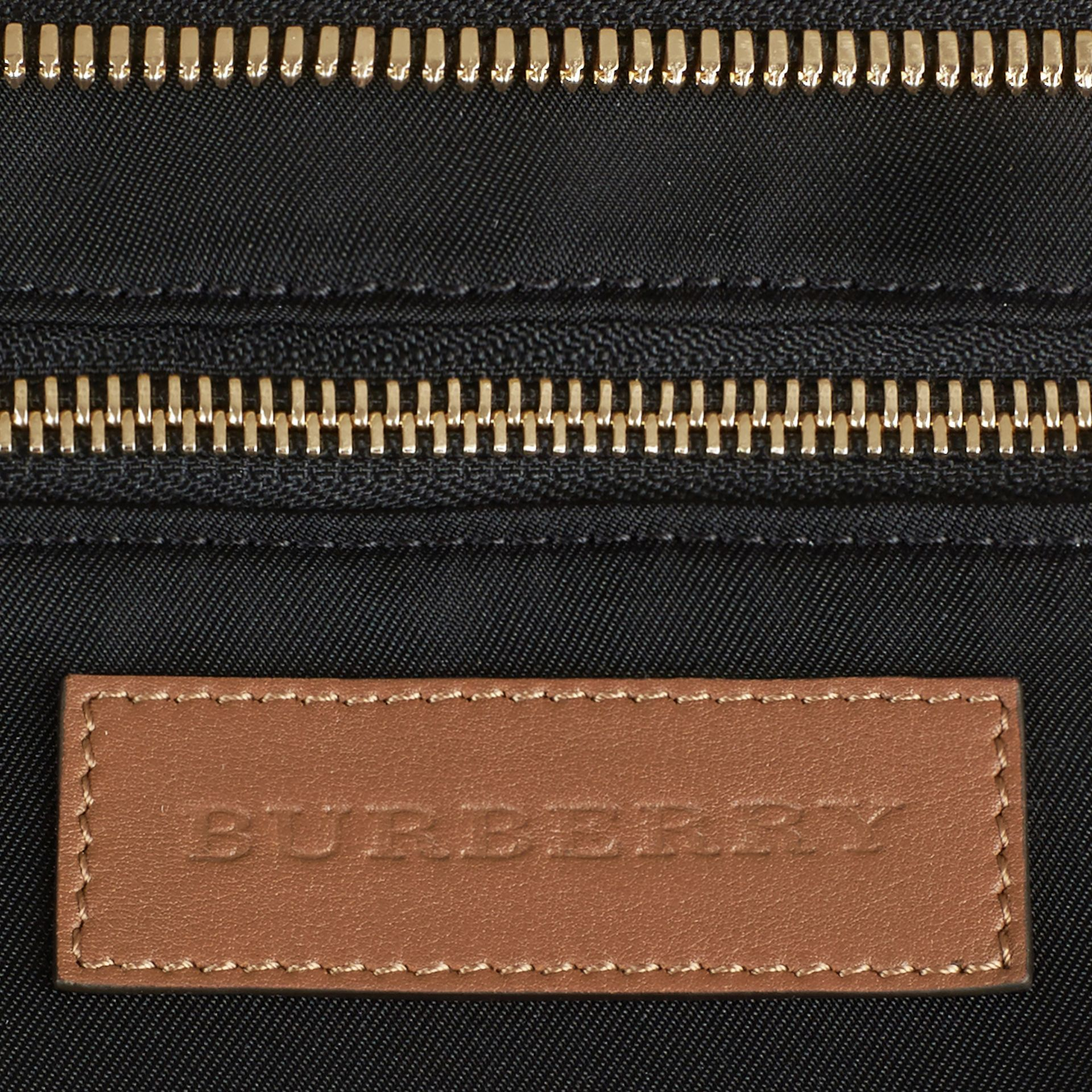 Horseferry Check Baby Changing Tote Bag in Tan | Burberry Canada - gallery image 7