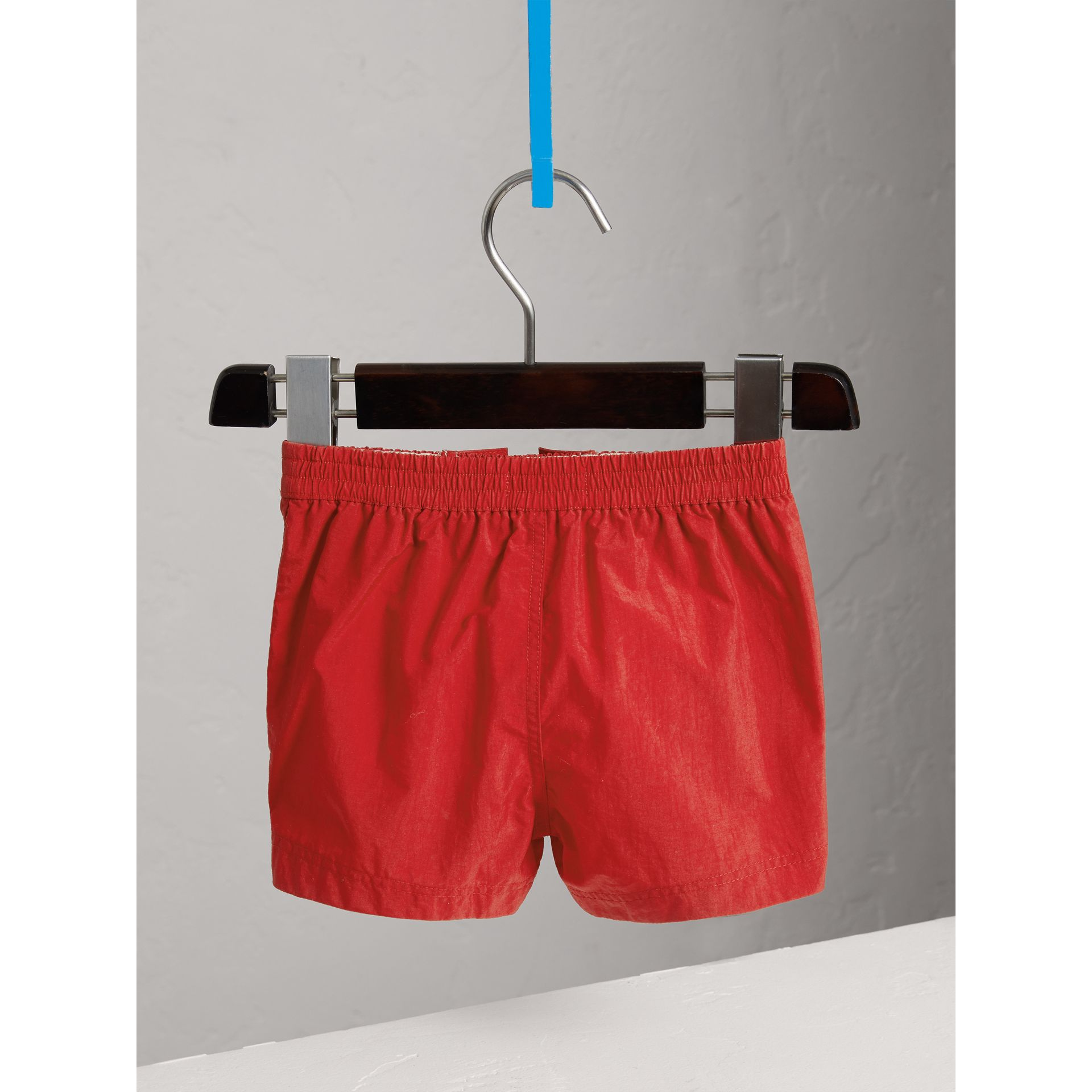 Lightweight Swim Shorts in Military Red | Burberry Canada - gallery image 3