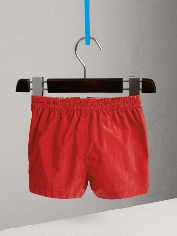 Lightweight Swim Shorts in Military Red | Burberry - cell image 3
