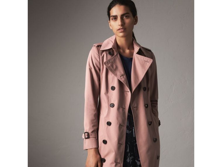 Cotton Gabardine Trench Coat - Women | Burberry - cell image 4
