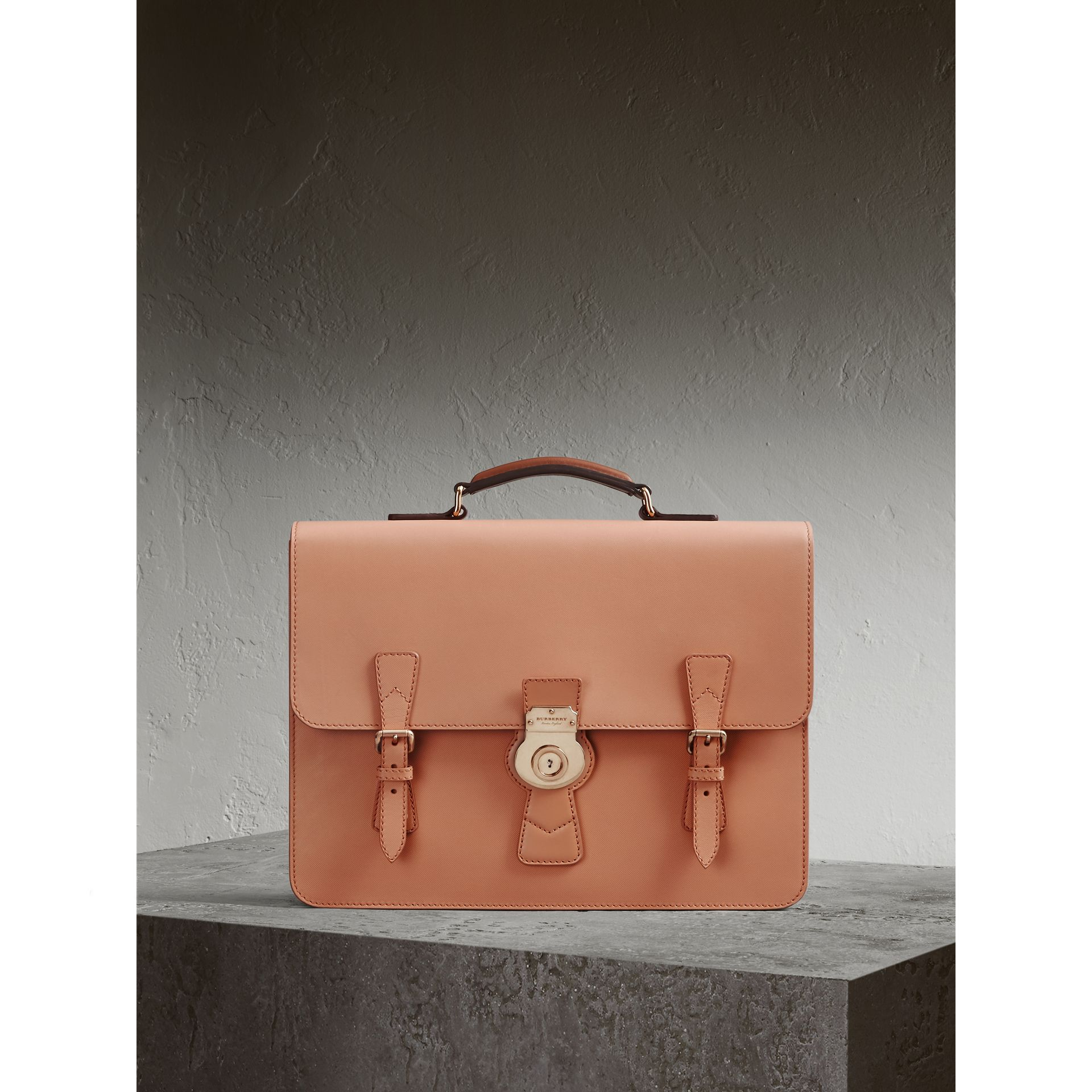 The Medium DK88 Satchel in Pale Clementine - Men | Burberry - gallery image 1