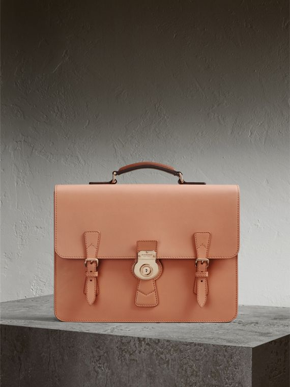 The Medium DK88 Satchel in Pale Clementine