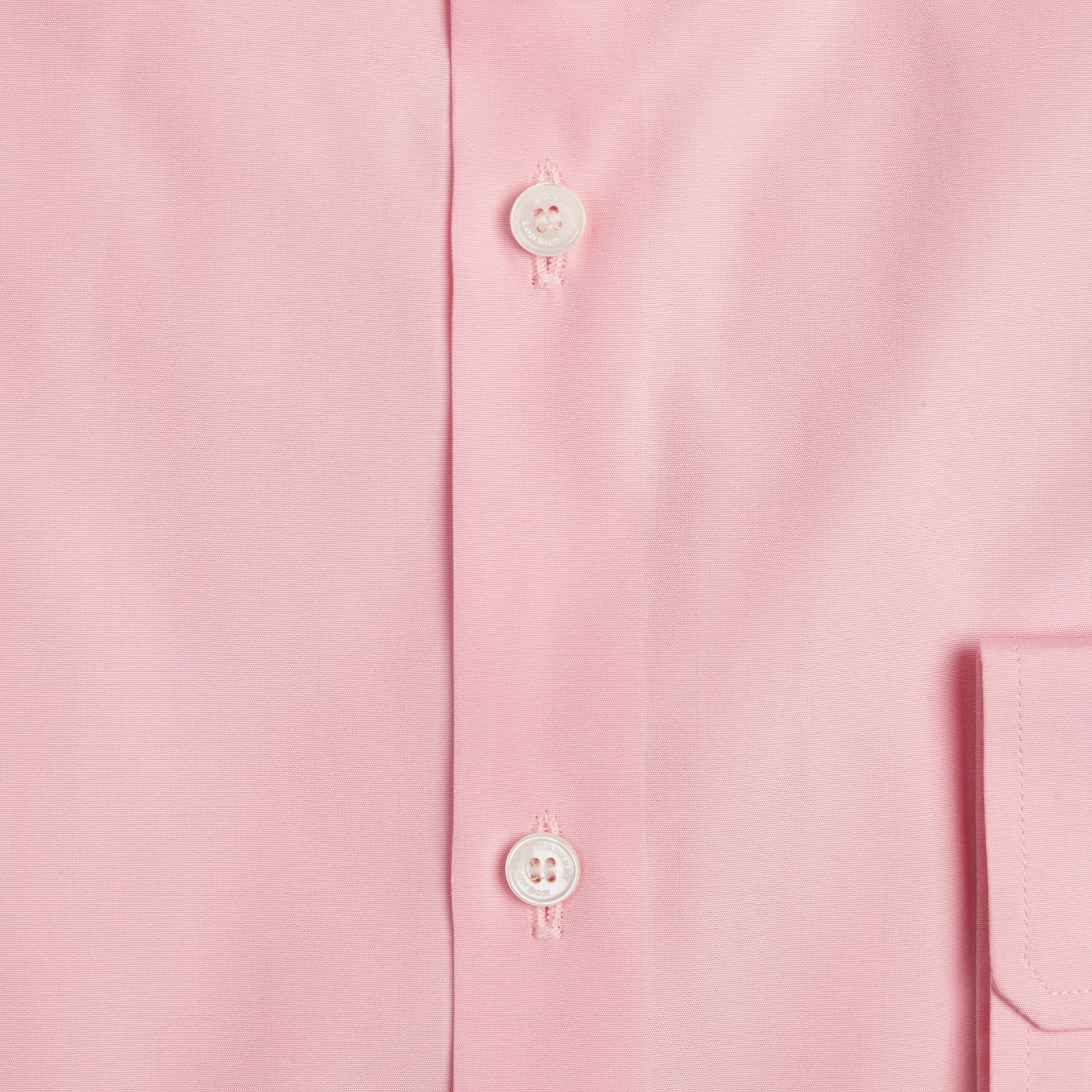 Modern Fit Cotton Poplin Shirt City Pink - gallery image 2