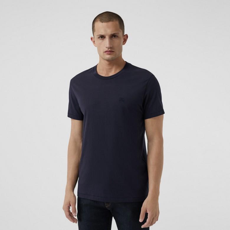 Burberry - T-shirt en jersey de coton - 1