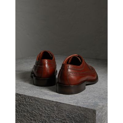 Burberry - Leather Derby Brogues - 4