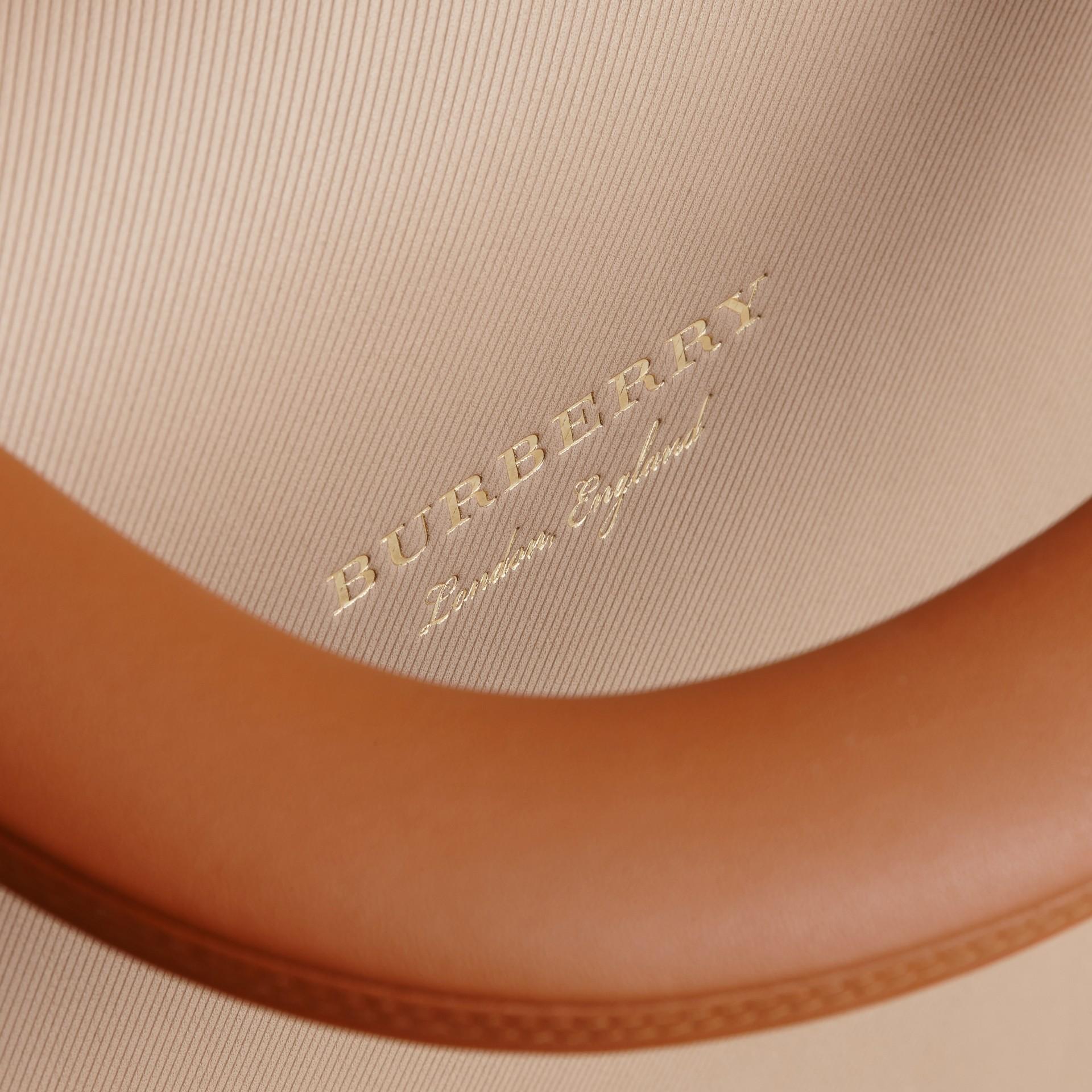 The Medium DK88 Top Handle Bag Limestone/honey - gallery image 7