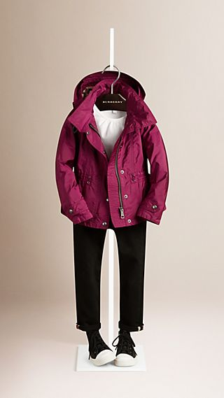 Technical Jacket with Detachable Hood