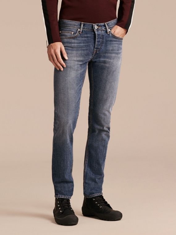 Skinny Fit Japanese Selvedge Denim Jeans