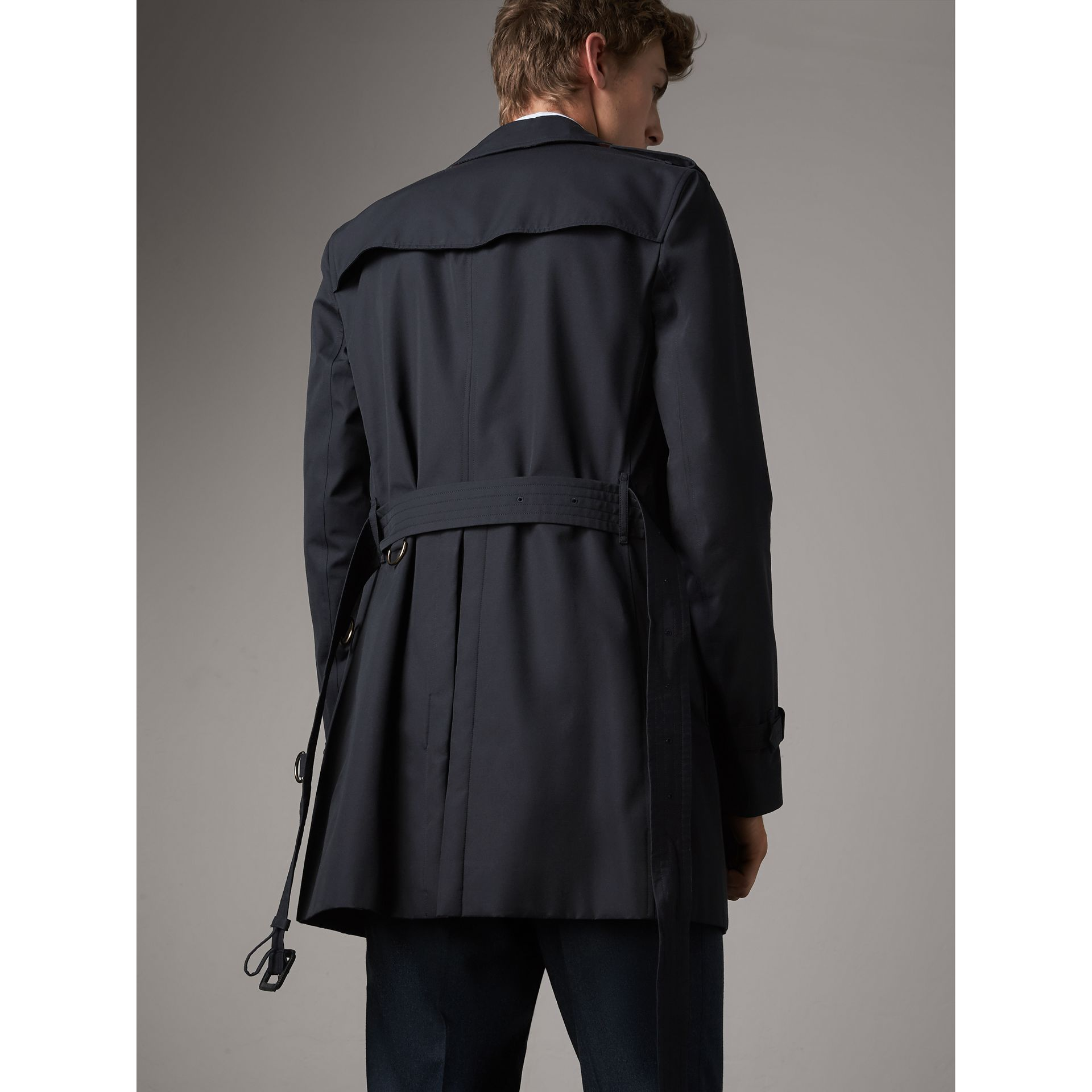 The Sandringham – Mid-length Trench Coat in Navy - Men | Burberry Canada - gallery image 2