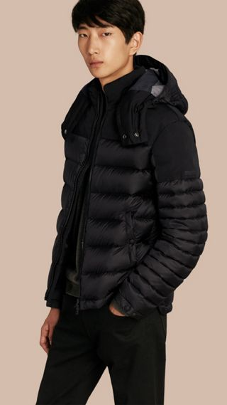 Mid-weight Down-filled Technical Puffer Jacket