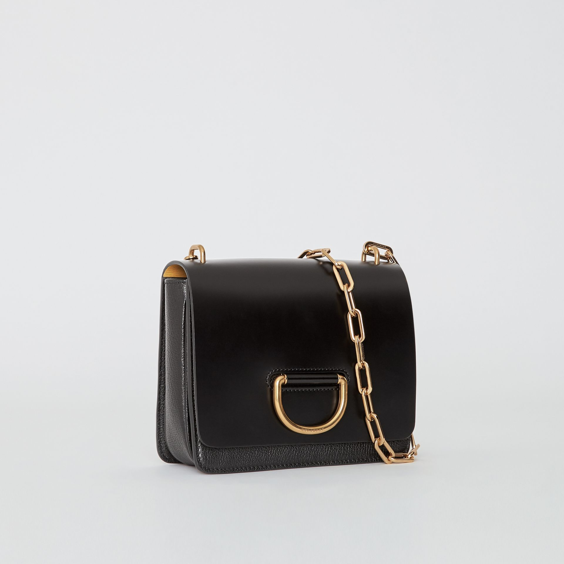 Petit sac The D-ring en cuir (Noir) - Femme | Burberry - photo de la galerie 6