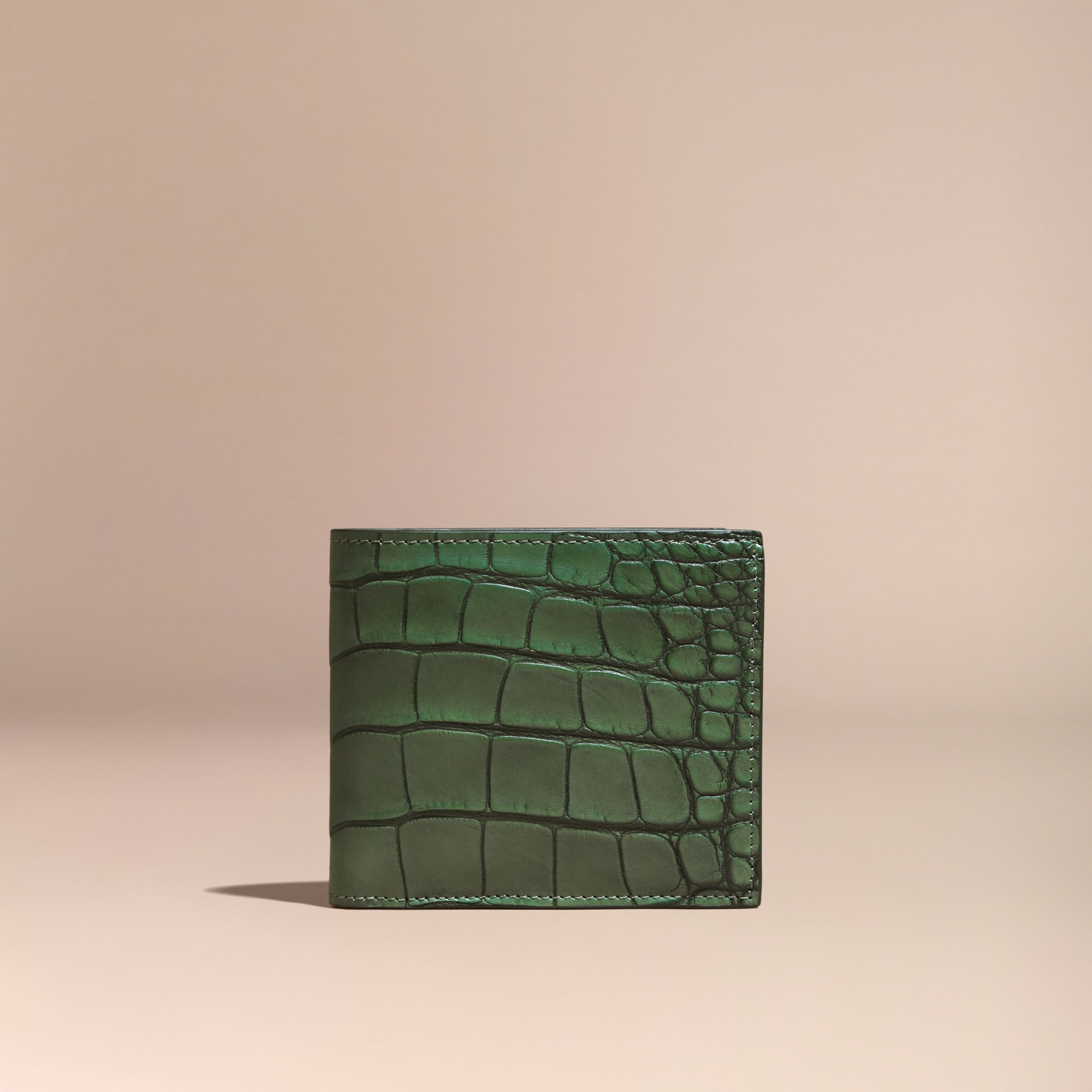 Sage Alligator Folding Wallet - gallery image 6