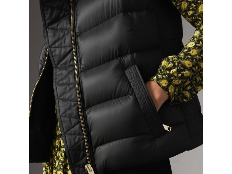Down-filled Gilet in Black - Women | Burberry United Kingdom - cell image 1
