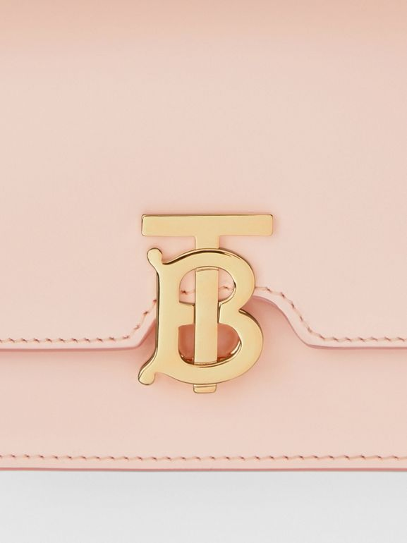Mini Leather TB Bag in Rose Beige - Women | Burberry - cell image 1