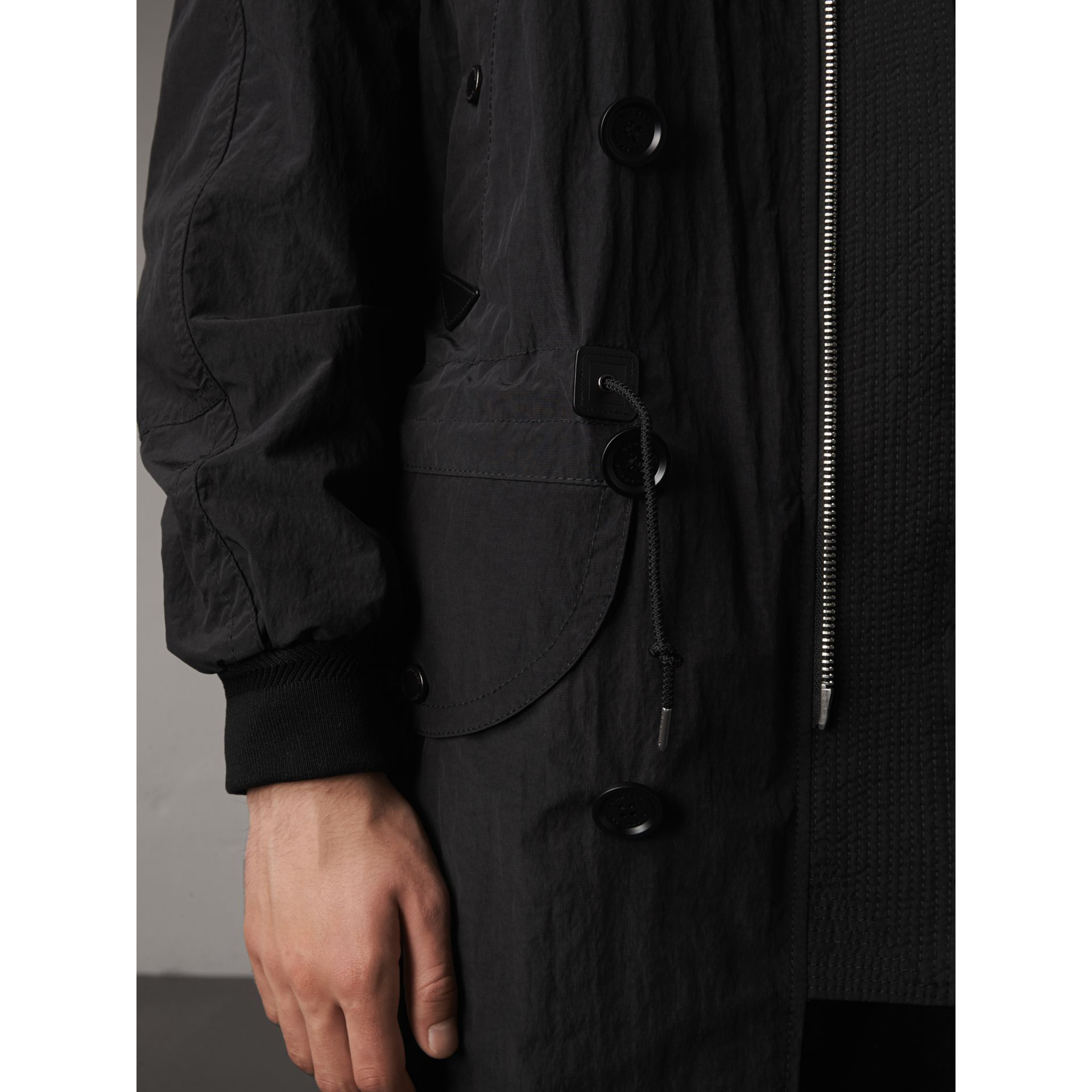 Rainproof Flyweight Parka - Men | Burberry Singapore - gallery image 5