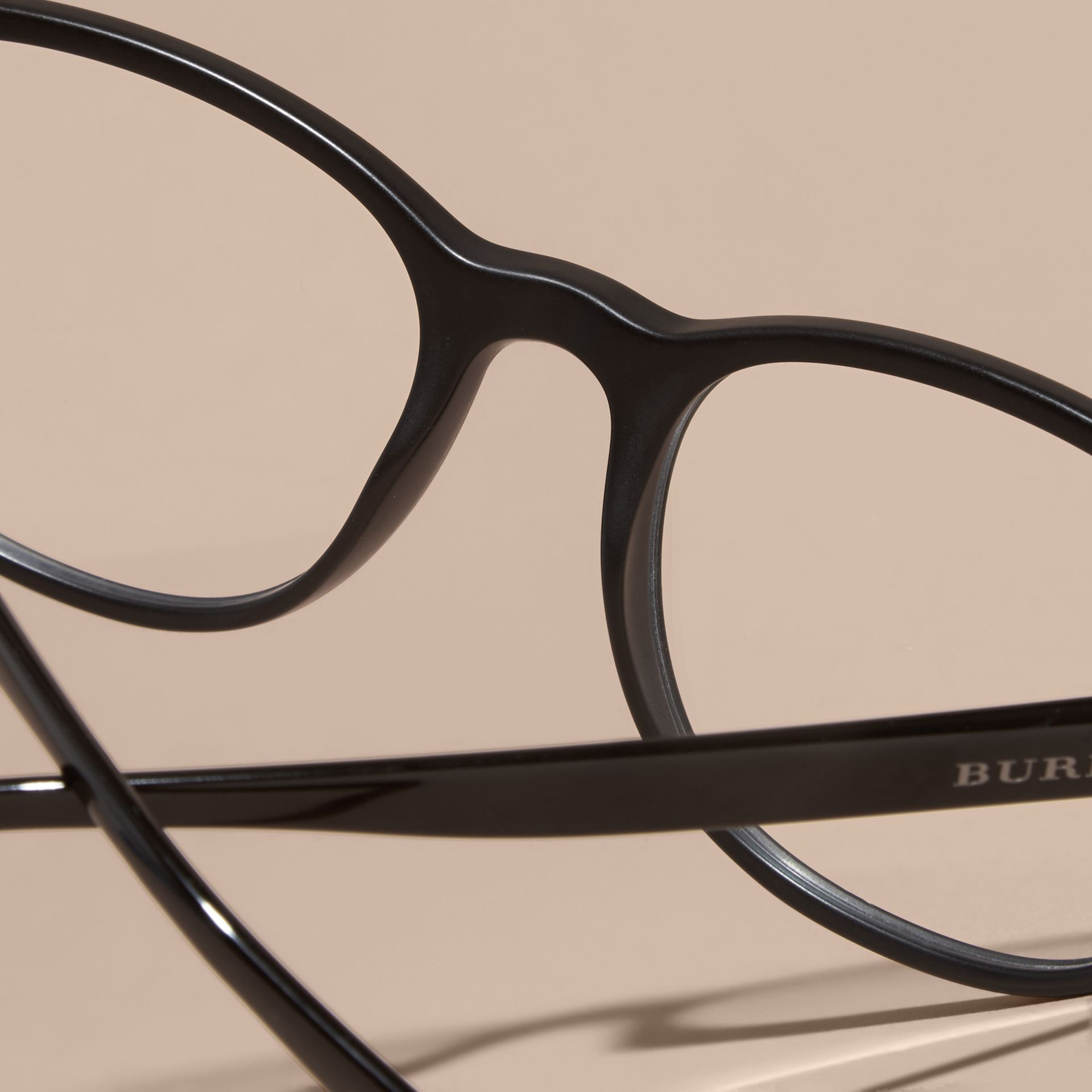 Square Optical Frames Black - gallery image 5